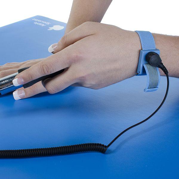 Anti Static Chair Mat : Anti static work surface kit mats