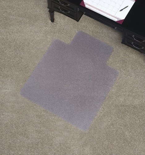 standard chair mats floor mats and desk mats for low pile carpet by mat depot mat depot. Black Bedroom Furniture Sets. Home Design Ideas