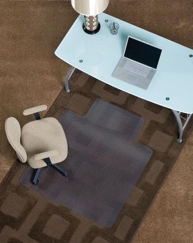 deluxe chair mats floor mats and desk mats for medium pile carpet by mat depot mat depot. Black Bedroom Furniture Sets. Home Design Ideas